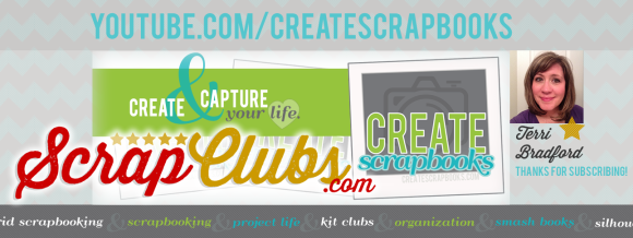 http://youtube.com/CreateScrapbooks CreateScrapbooks YouTube Channel Scrapbooking Videos Scrapbook Kit Clubs