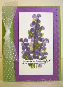 you are beautiful featuring the branches4flowers stamp set