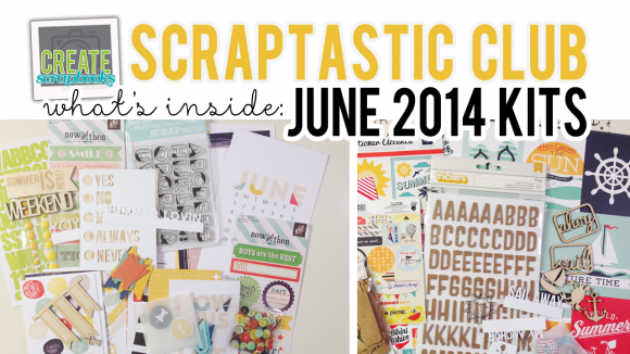 http://youtu.be/pl3Asz7qC-E - What's Inside VIDEO: Scraptastic Club - JUNE 2014 Kits - This Life Noted (Pocket Page/Project Life Style) Kit, SAIL Kit & Add-Ons, Plus Exclusive Scraptastic Stamps, & Wood Veneer