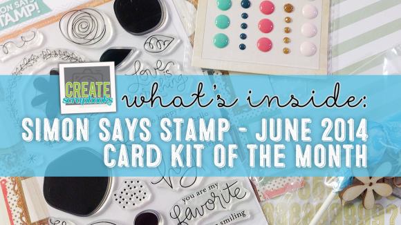 "http://shrsl.com/?~5x88 - Simon Says Stamp - JUNE 2014 ""YOU ARE MY FAVORITE"" Exclusive Card Kit of the Month with SSS Stamp Set"