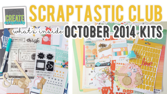 http://youtu.be/iM3X3nUzM04 -CreateScrapbooks What's Inside VIDEO: ScraptasticClub.com OCTOBER 2014 Kits - This Life Noted (Pocket Page/Project Life Style) Kit, HEART IT RACES Kit, HEART IT RACES Add-On Kit, and 3 Exclusive Scraptastic Stamps