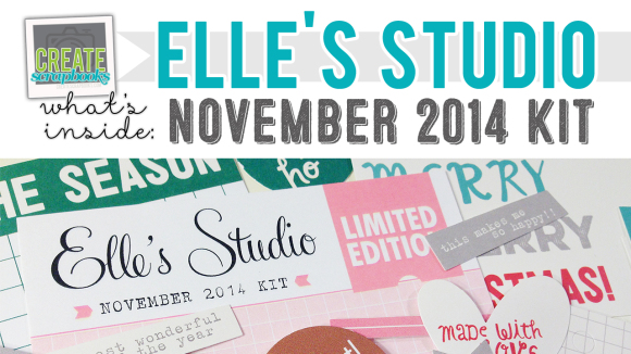 http://youtu.be/ii7QmYeVDO8 -  What's Inside VIDEO: Elle's Studio - NOVEMBER 2014 - Monthly Tag Kit (Exclusive Project Life Cards/Tags & Paper Embellishments)