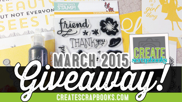 "http://youtube.com/CreateScrapbooks March 2015 CreateScrapbooks YouTube GIVEAWAY: Simon Says Stamp ""Classic Beauty"" Card Kit!"